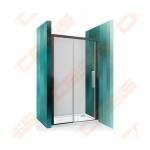 Dušo durys ECD2L/120 (briliant/skaidrus)