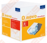 Pakabinamas unitazas Villeroy&Boch O.Novo Direct-flush su dangčiu