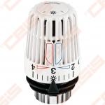 Termostatinė galvutė su įmontuotu jutikliu radiatoriniam šildymui TA HYDRONICS K; M30x1,5; 6-28 (Skaičių 1-5 nustatymas su dviem temperatūros ribotuvais)