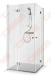 Dušo kabina Baltijos Brasta Simona 100x100x190 cm, skaidriu stiklu