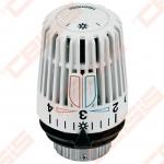Termostatinė galvutė su įmontuotu jutikliu radiatoriniam šildymui TA HYDRONICS K; M30x1,5; 6-28 (Skaičių 1-5 nustatymas su dviem temperatūros ribotuvais; Apsauga nuo vagystės)