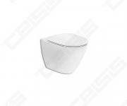 Ifö Inspira Art pakabinamas WC puodas be vidinio apvado, Rimfree