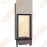 Plieninis židinio ugniakuras SCHMID LINA 4580 H (540 x 1565 x 520); 3,4-7,8kW