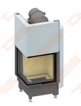 Plieninis židinio ugniakuras SCHMID EKKO L 45(45)51 H (510 x 1260 x 530); 3,2-7,1kW