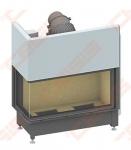 Plieninis židinio ugniakuras SCHMID EKKO L 100(45)45 H (1060 x 1140 x 530); 4,1-9,4kW