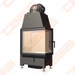 Plieninis židinio ugniakuras SCHMID EKKO R 55(34)45 S ; 5kW