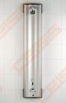 Baterija maitinama bekontaktė dušo panelė ORAS Electra su temperatūrą reguliuojančiu termostatu