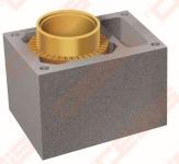 Blokelis RP su ventiliacine anga įdėklams, L=330 mm