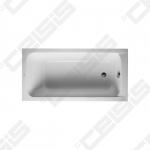 Vonia DURAVIT D-Code 170x75 cm su kojelėmis ir sifonu
