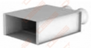 Grotelių dėžutė LOG-H-200x100-72x2
