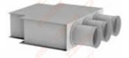 Grotelių dėžutė LOG-H-200x100-72x3