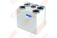 Įrenginys su rotaciniu šilumokaičiu Domekt-R-400-V-HE-C4.1 vertikalus dešininis