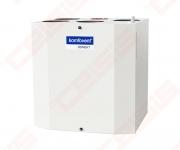 Įrenginys su rotaciniu šilumokaičiu Domekt-R-300-V-C6 vertikalus kairinis, BE PULTO