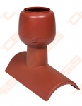 Kraigo ventiliacijos elementas VILPE raudonas