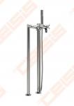Ant grindų montuojamas vonios/dušo maišytuvas ROCA Loft