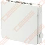 ADAX Elektrinis radiatorius atsparus aptaškymui VPS KT; su mechaniniu termostatu