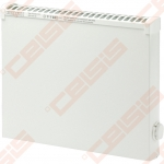 ADAX Elektrinis radiatorius atsparus aptaškymui VPS KEM; su elektroniniu termostatu