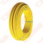 Apsauginis vamzdžio šarvas FRӒNKISCHE Dn32x3.0mm, geltonos spalvos
