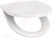 Dangtis WC JIKA Lyra Plus/Tigo unitazams, lėtai užsidarantis, plieninės sąvaros