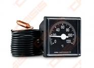Termometras TQ45 PVC 120°C, kapiliarinis