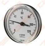 Termometras bimetalinis D63/100 DN15 0-120*