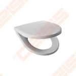 Unitazo dangtis JIKA pakabinamiems unitazams Lyra Plus su plastikinėmis sąvaromis ir Soft Close mechanizmu, antibakteriniu efektu