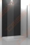 Dušo kabina ROTH WALK IN LINE WALK G/1000 su brillant spalvos profiliu ir skaidriu stiklu