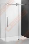 Šoninė dušo sienelė ROTH KINEDOOR LINE KIB/900 su brillant spalvos profiliu ir skaidriu stiklu