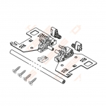 Mechanizmas IDO Elegant 60 push open spintelei