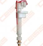 """Apatinio pripildymo mechanizmas ALCA PLAST, 1/2"""", metaliniu sriegiu"""
