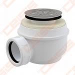 Dušo padėklo sifonas ALCA PLAST su metaliniu ventiliu, 60 mm (37 l/min)