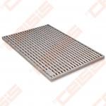 Cinkuoto plieno ACO Vario grotelės; Dn500x750mm