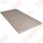 Cinkuoto plieno ACO Vario grotelės; Dn 500 x 1000 mm