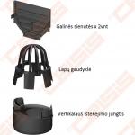 Plastikinis ACO Hexaline priedų rinkinys; Ilgis - 500 mm