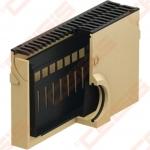 Polimerbetoninė ACO Euroline įtekėjimo dėžė su ketinėmis grotelėmis; Ilgis - 500mm