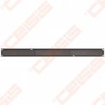 Dušo latakas ACO Tile su ruošiniu įklijuoti plytelėms ir horizontaliu flanšu, ilgis - 785 mm, aukštis - 92 mm, medžiaga - nerūdijantis plienas, pajungimas - d50