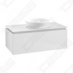 Spintelė apatinė VILLEROY&BOCH Legato 1000 x 500 stalviršis baltas blizgus