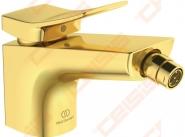 Bidė maišytuvas Ideal Standard Conca, su dugno vožtuvu, spalva Brushed Gold