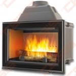 Ketinis židinio ugniakuras CHAZELLES HP800 L (800 x 837 x 503); 14kW