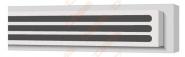 Difuzorius plyšinis priglaistomas VENTMANN LINE trijų plyšių 12mm, L-1000