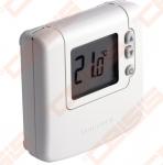Skaitmeninis patalpos termostatas DT90A, maitinamas baterija. Diferencialas 0,5°C. 24-230V.