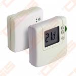 Bevielis patalpos termostatas DT92A, 24-230V, maitinamas elementais. Rėlinio boko maitinimas 230V