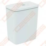 Bakelis WC Ideal Standard Connect Air Cube, apatiniu vandens įvadu, nuleidimas 4,5/3 L