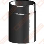 Vienasienis juodo plieno dūmtraukis JEREMIAS Ferro1405 0,25m