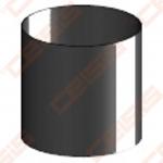 Vienasienis juodo plieno dūmtraukis su kondensato surinkėju JEREMIAS Ferro1465 0,15m
