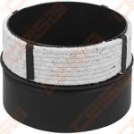 Vienasienė juodo plieno jungtis(juodas plienas <-> keramika) JEREMIAS Ferro1496