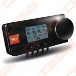Elektroninis valdiklis skirtas centrinio šildymo , karšto vandens tiekimo į boilerį , grindinio šildymo siurblių ir pamaišymo vožtuvo pavaros valdymui