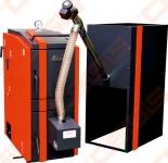 Katilas Kalvis K2-70DG 20-70kW (tinka kūrenti medienos granulėmis arba malkomis)