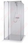Dušo kabina Brasta Glass KARINA 80 x 80 x 190 skaidrus stiklas