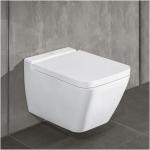 Komplektas WC VILLEROY&BOCH Finion Direc-flush Ceramic Plus su lėtai nusileidžiančiu dangčiu